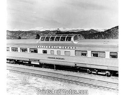 CA Zephyr Vista Dome Train  19110