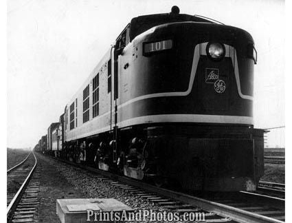 1st Gas Turbine-Electric Train  19340