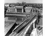 Aerial  Philly 30th St Station 19660