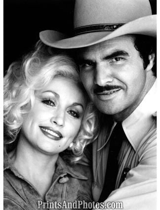 Dolly Parton & Burt Reynolds  19750