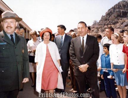 Lady Bird Johnson Fort Davis Ceremony 19800