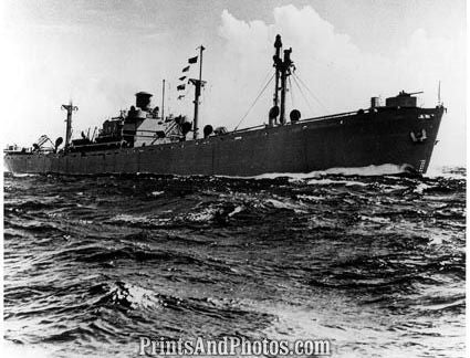 Liberty Ship US Emergency Cargo Vessel 19810