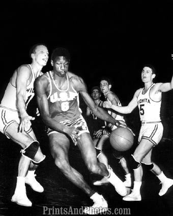 BILL RUSSELL 1955 San Francisco  2004