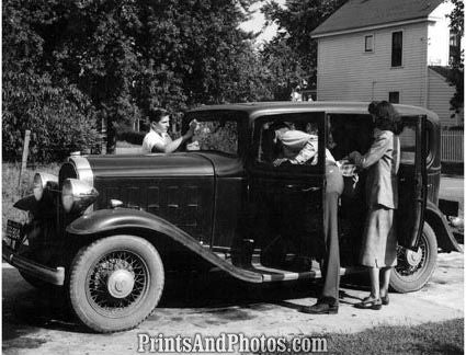1932 Buick Automobile  2049 - Prints and Photos