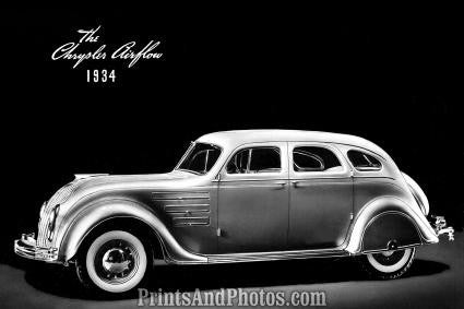 1934 Chrysler Airflow Automobile  2050 - Prints and Photos
