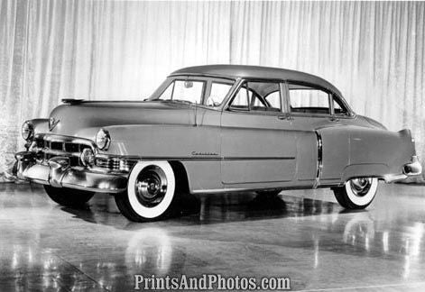 1950 Cadillac 4 Door Sedan  2072 - Prints and Photos