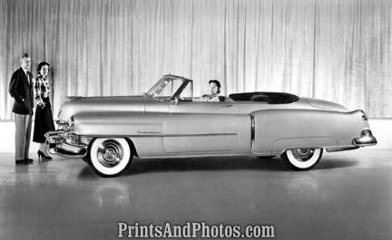 1950 Cadillac Series 62 Convertible  2074 - Prints and Photos
