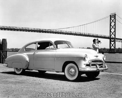 1950 Chevy Fleetline Sedan  2076 - Prints and Photos