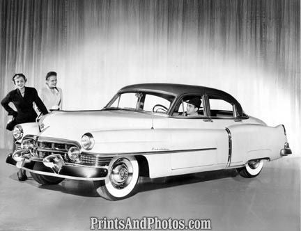 1951 Cadillac Sedan Auto  2095 - Prints and Photos