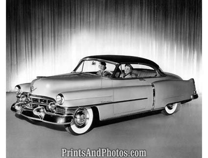 1951 Cadillac Coupe Deville  2096 - Prints and Photos