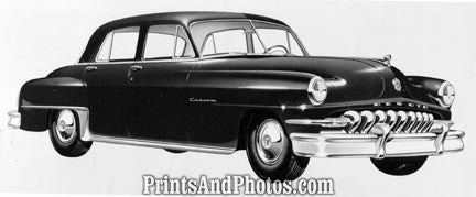 1952 Chrysler Desoto Custom Sedan  2112 - Prints and Photos