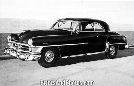 1952 Chrysler New Yorker Auto  2118 - Prints and Photos