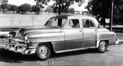 1952 Chrysler Saratoga Sedan  2119 - Prints and Photos