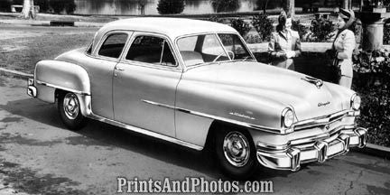 1952 Chrysler Windsor Auto  2120 - Prints and Photos