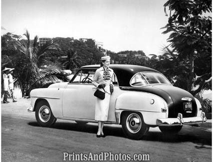 1952 Plymouth Belvedere Coupe Auto 2128 - Prints and Photos