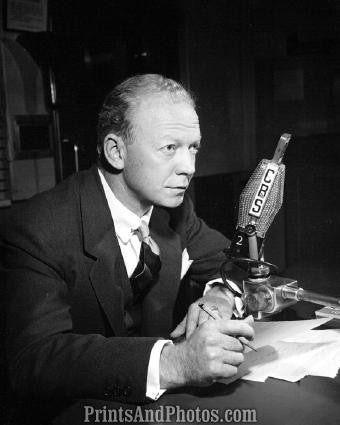 CBS Sports Announcer RED BARBER  2177