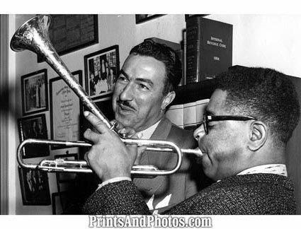 DIZZY GILLESPIE ADAM POWELL 55  2186