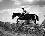 Jackie Kennedy & Horse Jump 1958  2237