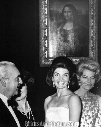 Jackie Kennedy & The Mona Lisa  2238