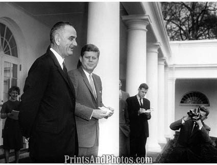 John F Kennedy Lyndon Johnson  2271