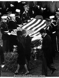 Kennedy Funeral Bobby Ted Jackie  2286