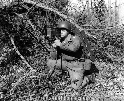 US ARMY Tactical TV Camera 1956  2349