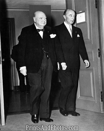 CHURCHILL & Robert Lovett 52  2354