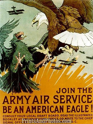 Military  Army Air Service WW I 2419