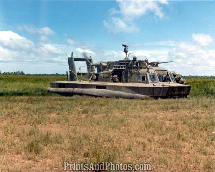 Vietnam Hovercraft  on Land 2447