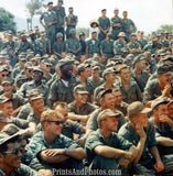 Vietnam Soldiers at USO Show  2483