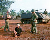 Vietnam US Soldiers w/ Prisoner  2495