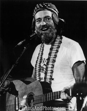 Country Legend WILLIE NELSON  2498
