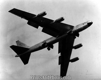 AIR FORCE B52 Bomber PLANE  2588