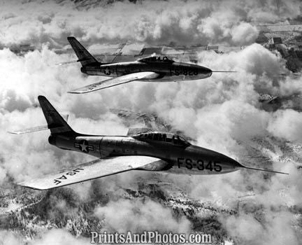 AIR FORCE F84 Thunder Jets  2604