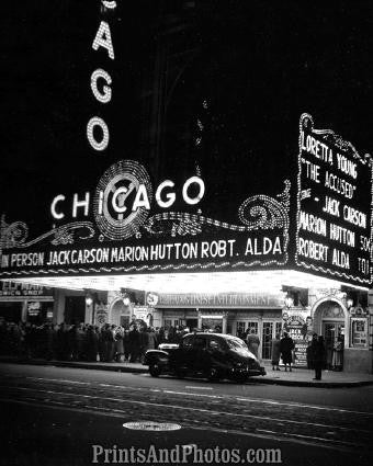 CHICAGO THEATRE 1949  2617