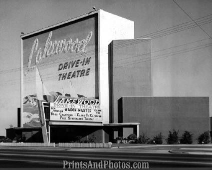 Lakewood CA Drive In THEATRE  2619
