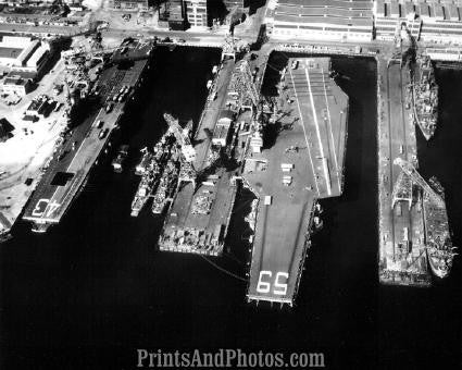 Aerial  US Navy Carrier 2645
