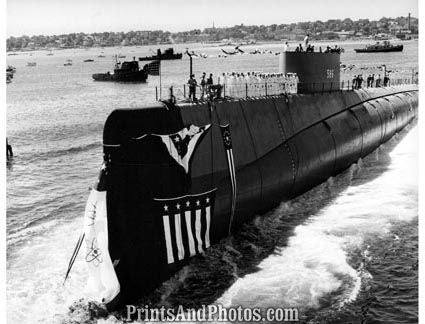 Navy  Atomic Powered Submarine 2665