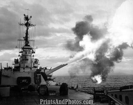 Navy Cruiser Firing Republic of Korea 2672