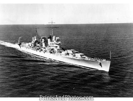 Navy  Light Cruiser USS Honolulu 2702