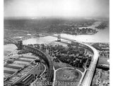 Aerial  Triborough Bridge NYC 2748