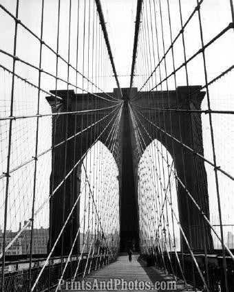 Brooklyn Bridge NYC  Interior 2749