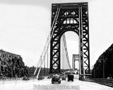 George Washington Bridge  NJ Side 2755