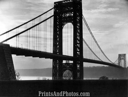 George Washington Bridge  NY Side 2756