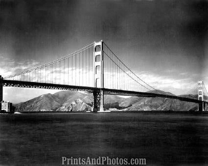 Golden Gate Bridge San Francisco PRINT 2764