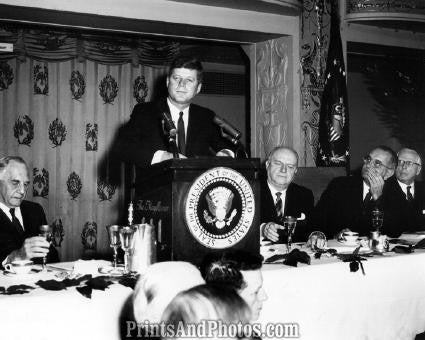 John F Kennedy at Podium  2790