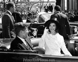 John & Jackie Kennedy Ride in LIMO  2795