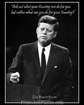 John F Kennedy Quote  2818
