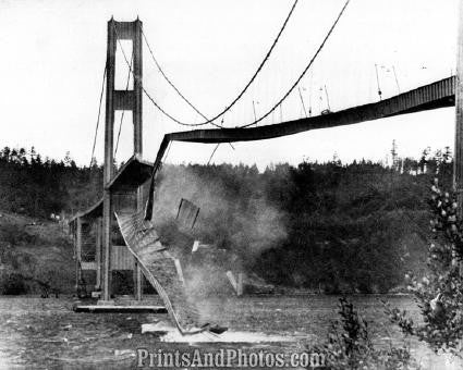 Tacoma Narrows Bridge Puget Sound WA 2860