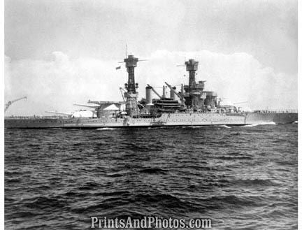 NAVY SHIP USS Maryland 1935  2886